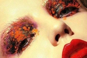 时尚化妆造型作品
