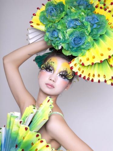 学生化妆造型作品