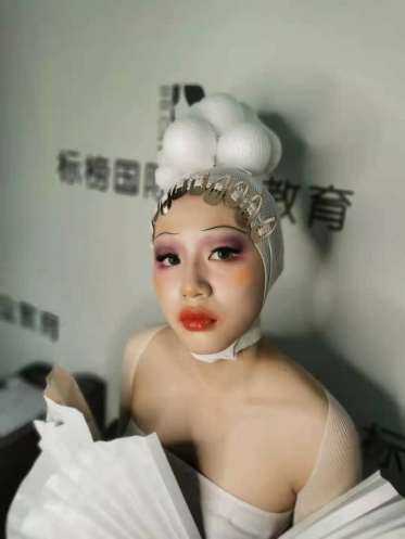 化妆造型作品